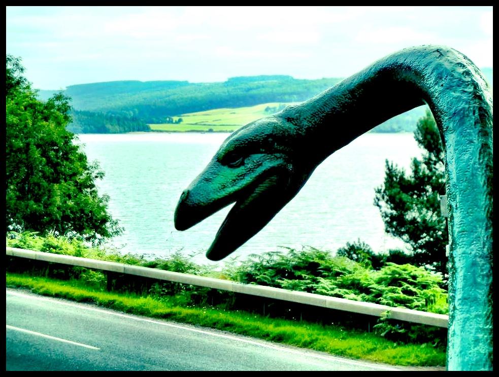 Die werklike Loch Ness Monster - geen affiliasie met die EFF nie.