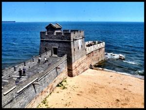 Waar die Groot Muur van China begin…of eindig…of begin.