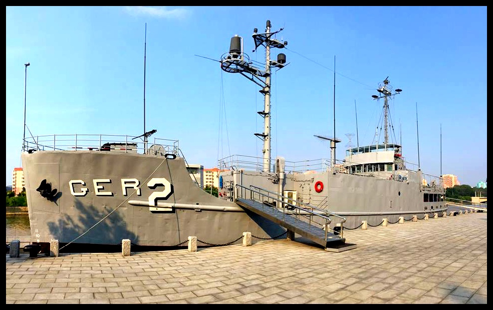 Die USS Pueblo. Noord-Korea se trotsste na-oorlogse trofee.