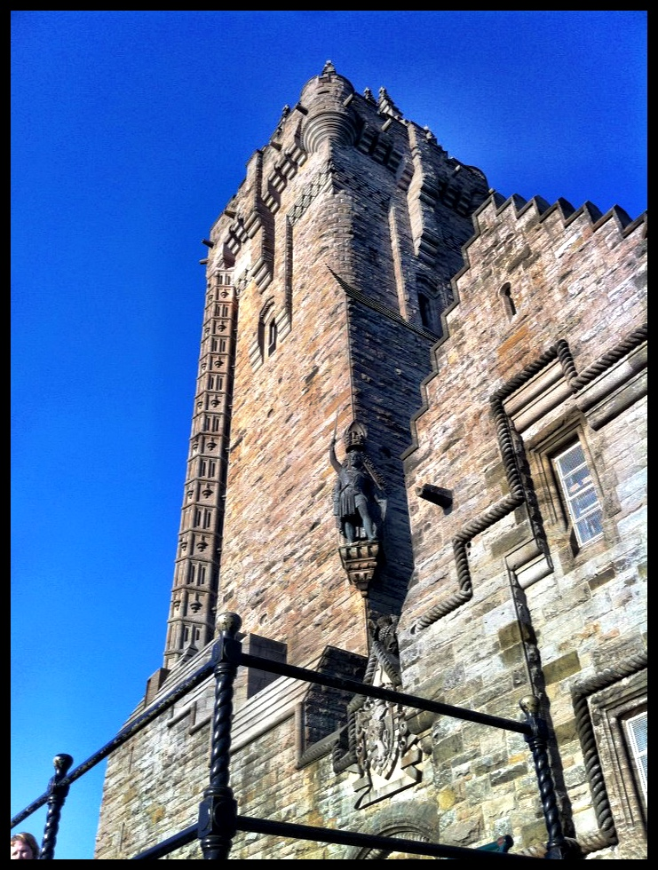 Die William Wallace Monument by Stirling.