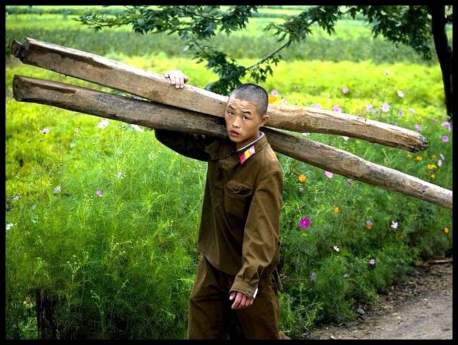 Soldate word dikwels ingespan om hande-arbeid te verrig – 'n feit wat heftig deur die regime ontken word.
